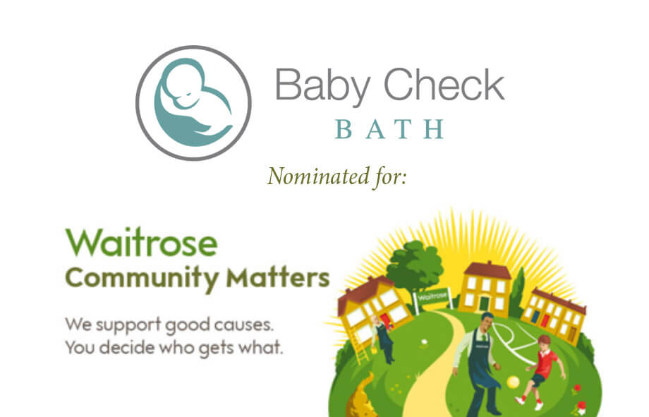 Waitrose Community Matters choose Baby Check Bath in Feb 2017