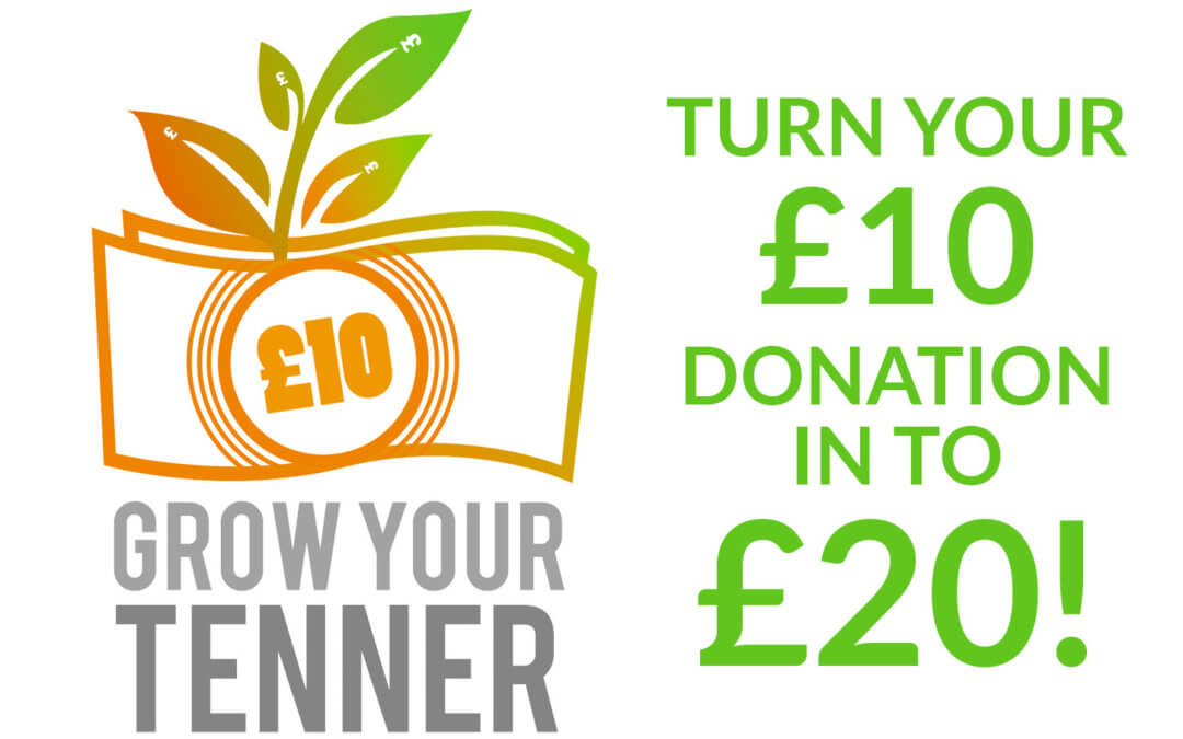 Grow your Tenner – Baby Check Donation – Can you help?
