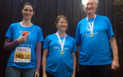 Congratulations to our fundraisers for completing the Bath half marathon!