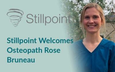 Stillpoint Welcomes Osteopath Rose Bruneau